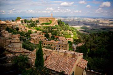 Montalcino town. Italy
