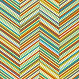 Chevron geometric seamless pattern, vector poster