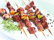 Brochette (shish kebab on skewers)
