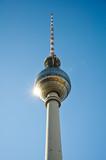 Fototapety Fernsehturm Berlin