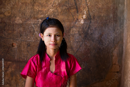 casual myanmar girl