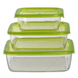 green airtight containers for food