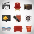 cinema vector icons