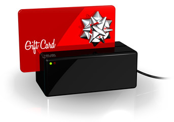 Gift Card Red Terminal