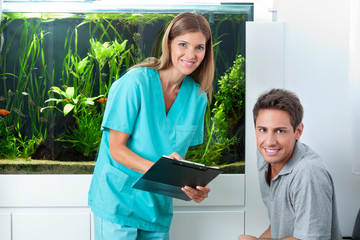 Doctor And Patient In Dental Clinic