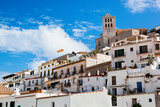 Old city of Ibiza, Spain