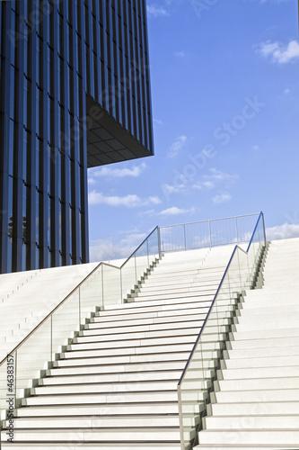 Treppe und moderne Architektur