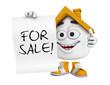 Kleines 3D Haus Orange - For Sale!