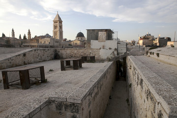 Old city of Jerusalem on top.