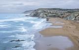 The Sopelana beach in Vizcaya, Spain poster