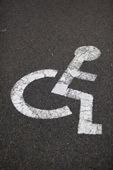 place handicapé
