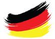 German Flag Sketched