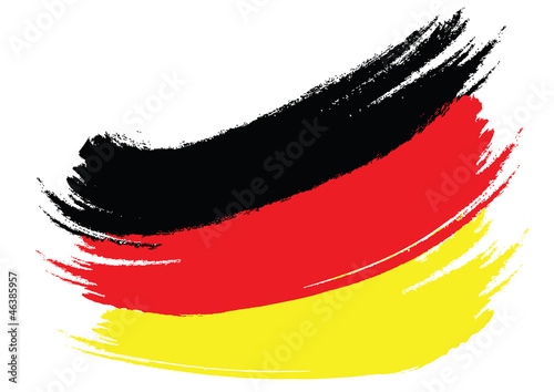 German Flag Sketched