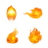 Flame, icon