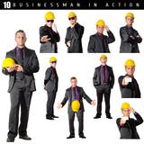 dieci foto di uomo d'affari