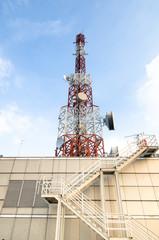 Telecommunications tower,