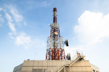 Telecommunications tower,