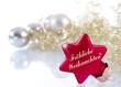 Fröhliche Weihnachten Glückwunsch