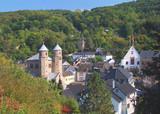 Kur-und Touristenort Bad Münstereifel in der Eifel poster