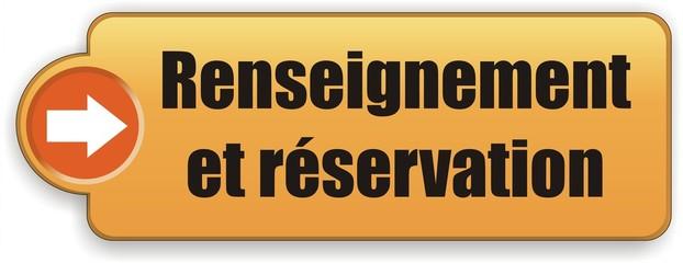 bouton renseignement et réservation
