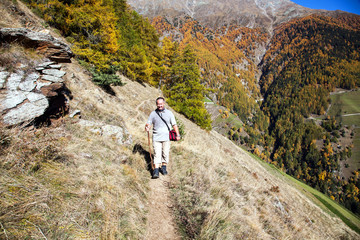 Hiking in the Alps of South Tyrol