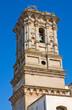 Belltower Mother Church. Copertino. Puglia. Italy.