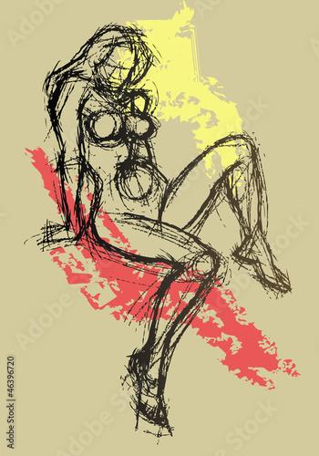 Fototapeten,sketch,zeichnung,gezeichnet,colour
