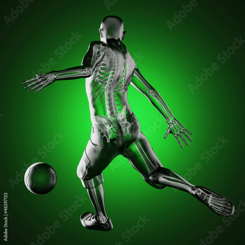 soccer game player