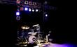 Leinwanddruck Bild - Schlagzeug Licht