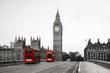 Leinwanddruck Bild - Westminster Palace