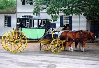 Horse Carriage, USA