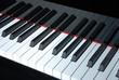 Klaviertastatur Detail