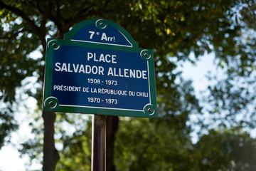 place Salvador Allende à Paris