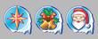Ñhristmas icons