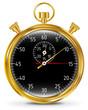 Golden vector stopwatch