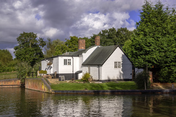 houses by canal