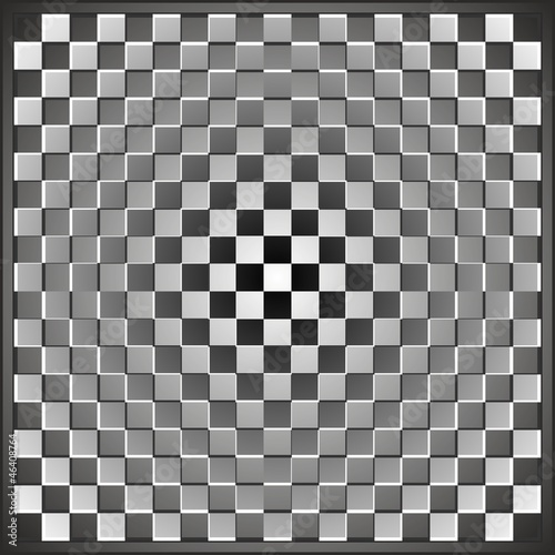 Optical illusion rectangle