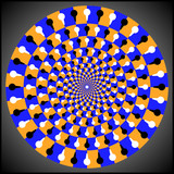 Optical illusion ellipse