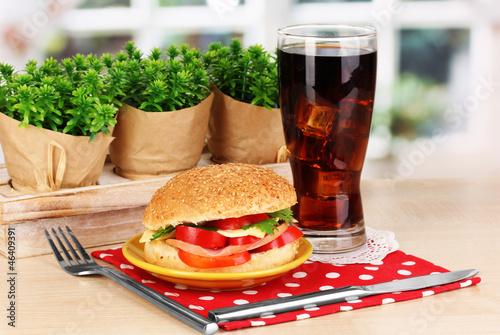 Appetizing sandwich