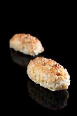 Almond panellets. Cataln cuisine