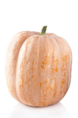 raw pumpkin isolated
