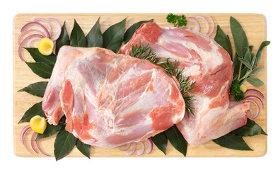 Shoulder of lamb - spalla di agnello