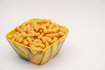 snacks,corn puffs
