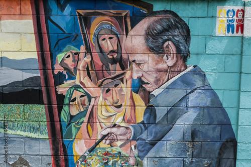 Fototapeten,graffiti,colour,südamerika,kunst