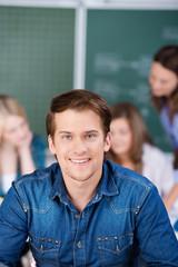 student in der uni