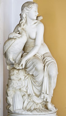 Statue of Aphrodite at Achilleion palace at Corfu island