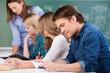 studenten im unterricht