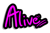 Fashion alive sticker