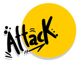 Attack symbol