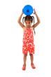 enfant avec ballon baudruche